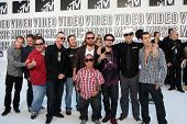 LOS ANGELES - SEP 12:  Jackass Cast  arrives at the 2010 MTV Video Music Awards  at Nokia - LA Live