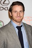 LOS ANGELES - OCT 16:  Sam Jaeger arrives at the 2010 Environmental Media Awards at Warner Brothers