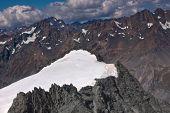 Mount Cook Peak Aerial Photo