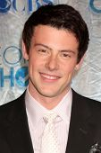 LOS ANGELES - JAN 5:  Cory Monteith arrives at 2011 People's Choice Awards at Nokia Theater at LA Li