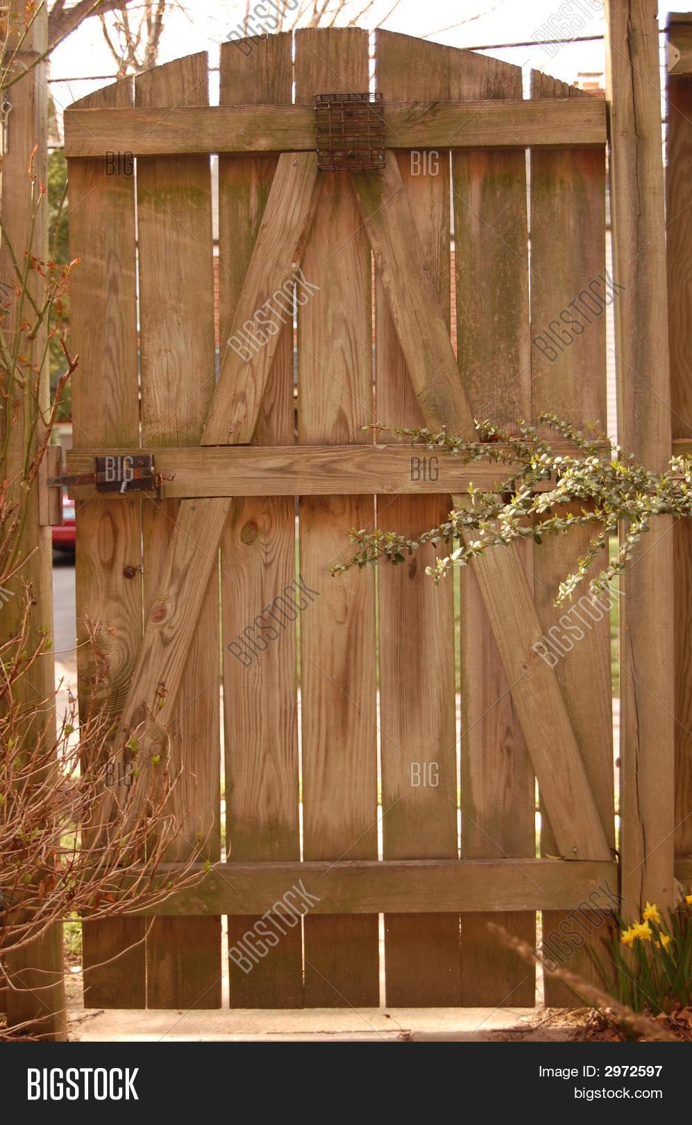 Backyard door image photo bigstock for Backyard door