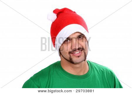 Indian Christmas Guy