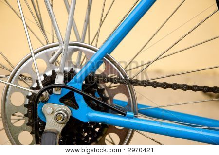 Rear Chainrings Of A Bicycle