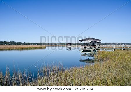 Marshlands of Pawley's Island, South Carolina