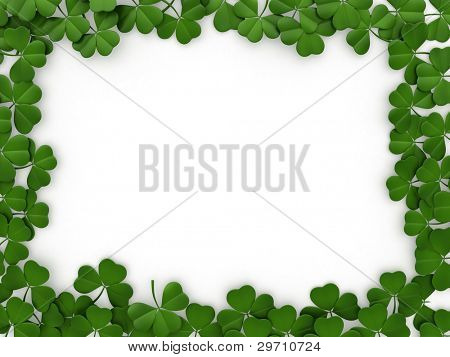 3D llustration with a St. Patrick's Day Theme