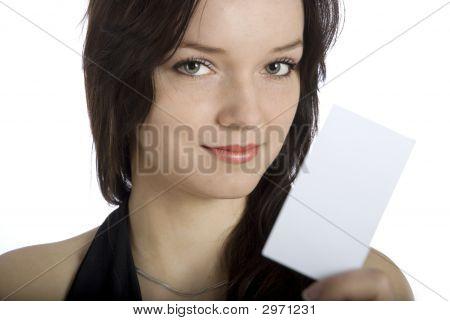 Willst du meine Bussines-Karte?