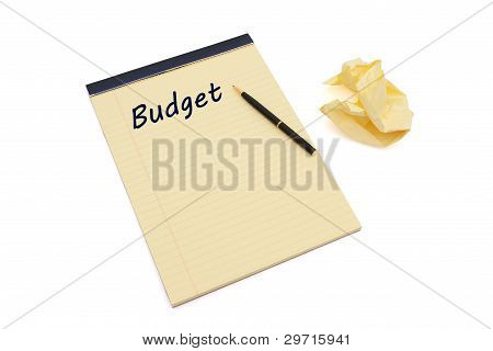 Writing Your Budget