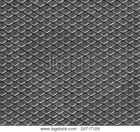 Seamless Industrial Pattern With Texture Of Metal Net