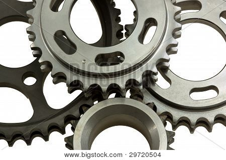 Different Gear Close-up