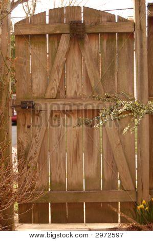 backyard door stock photo stock images bigstock