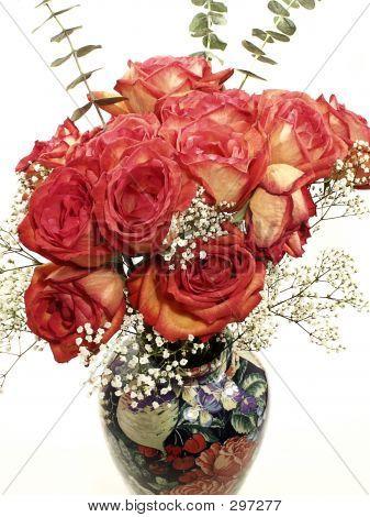 Rose Burst Vase