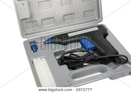 Tasche mit Hacke Klebepistole