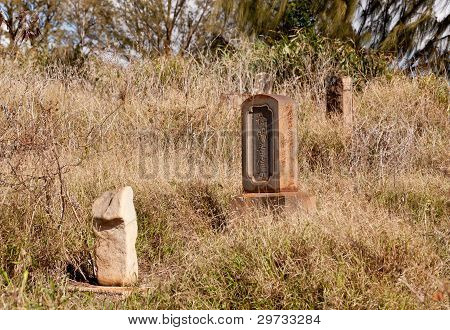 Abandoned Chinese Graveyard In Kauai