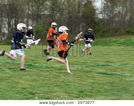 Lacrosse - Little League Game