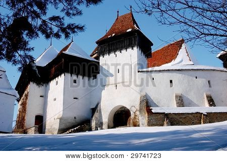 Village fortress of Viscri, Transylvania, Romania