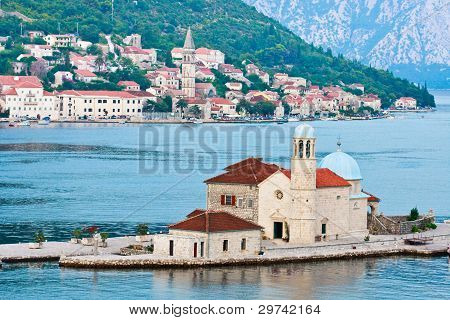 Our Lady Of The Rocks And Perast, Montenegro