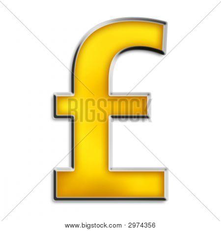 Gold British Pound