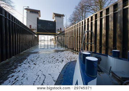 Ice In Sluice