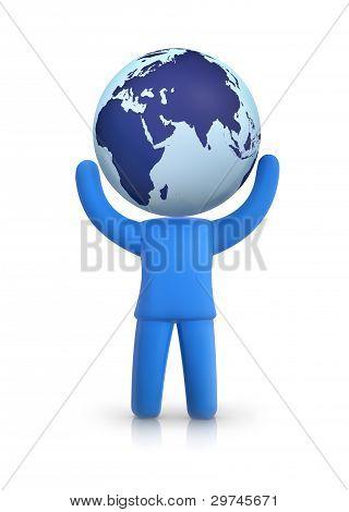 Earth head