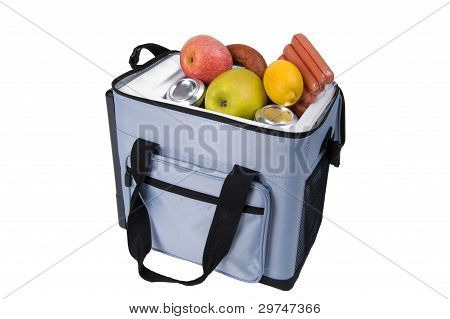 Bag A Refrigerator With Food