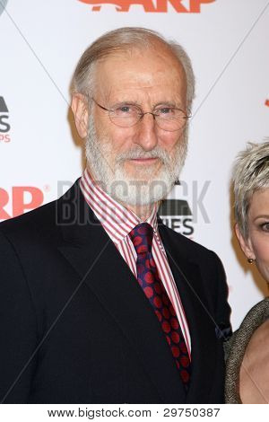 LOS ANGELES - FEB 6:  James Cromwell arrives at the AARP's 11th Annual Movies For Gownups Awards at Beverly Wilshire Hotel on February 6, 2012 in Beverly Hills, CA