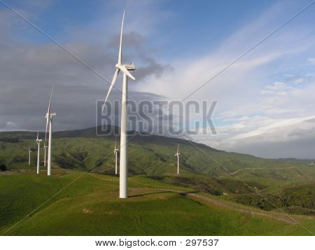 Te Apiti - Wind Farm, New Zealand