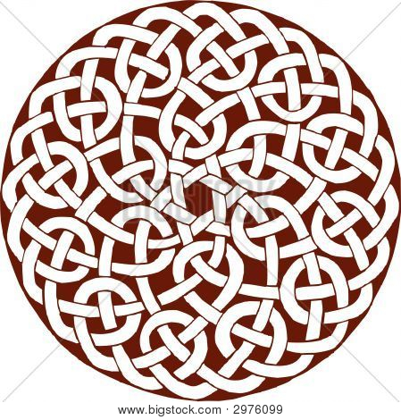 Celtic Ring Fully Knoted