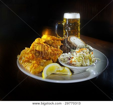 Fish Fry And Beer