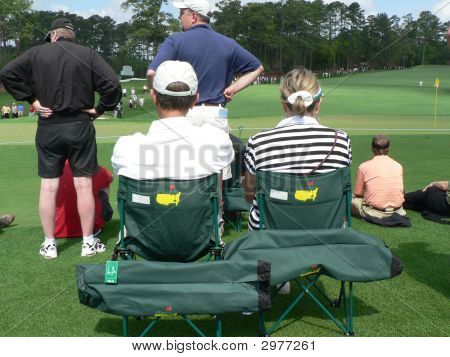 Baby Boomers In Camp Chairs