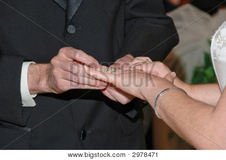 Pacing Of The Wedding Rings
