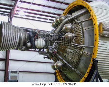 Space Shuttle Engine Parts