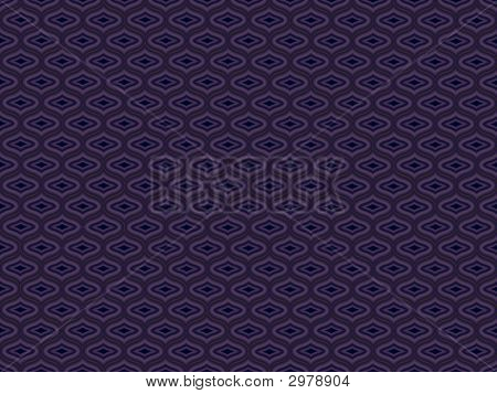 Quilted Vintage Mauve Ogee Pattern