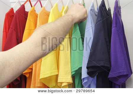 Picking Out A Shirt