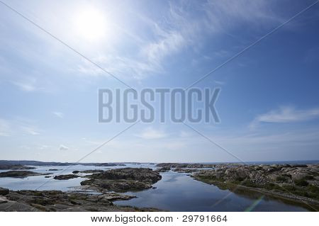 Coast of western Sweden