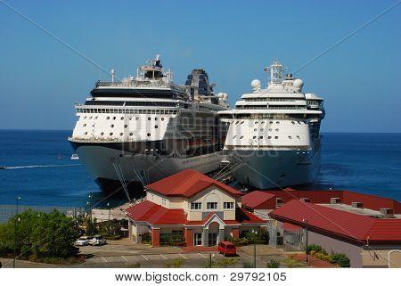 Docked Together
