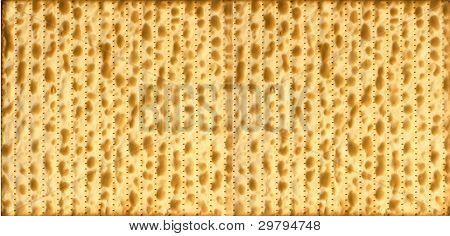 Traditional Jewish Matzo Sheet