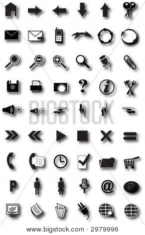 Iconos de la web