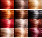 picture of hair dye  - Hair Colors Set - JPG