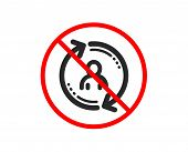 No Or Stop. Refresh User Info Icon. Update Profile Sign. Prohibited Ban Stop Symbol. No User Info Ic poster