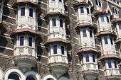 stock photo of british bombay  - luxury historic hotel Taj Mahal Palace in Mumbai  - JPG