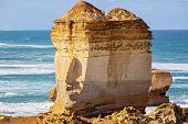 The Great Ocean Road Coastline In Victoria, Australia poster