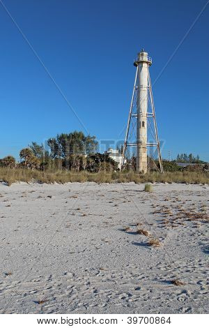 Gasparilla Island Rear Range Light, Florida Vertical