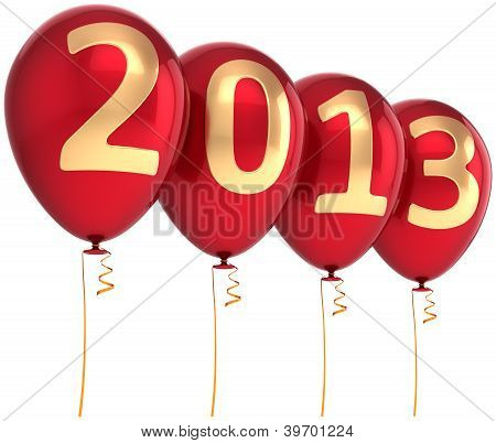 2013 New Year party balloon holiday decoration