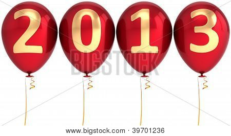New 2013 Year balloons party decoration