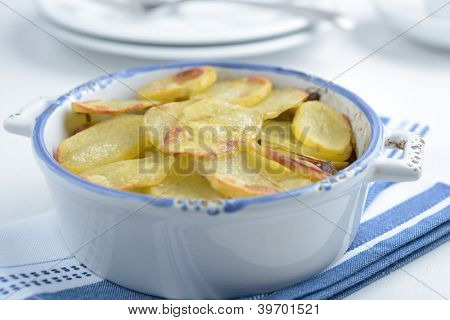 Lancashire hot pot with meat and potato