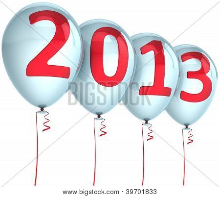 New Year 2013 balloons holiday party decoration