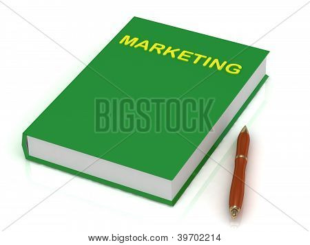 Green Book On Marketing And Pen