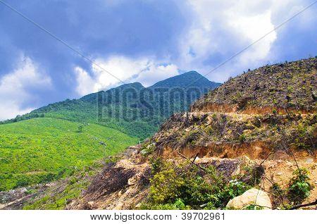 beautiful mountainside