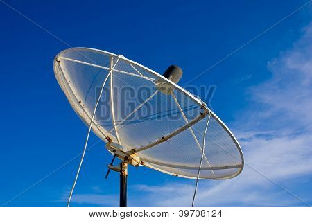 Satellite Dishes.