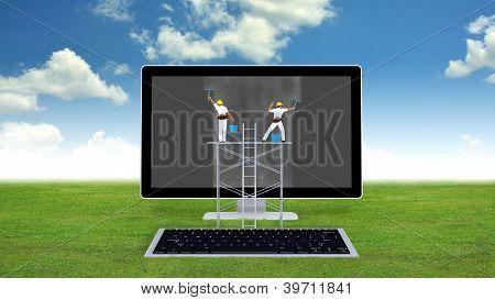 Computer Maintenance Concept